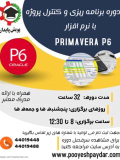 دوره آموزش نرم افزار پریماورا p6