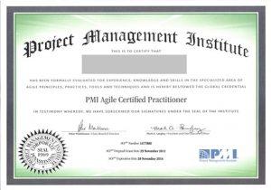 گواهینامه PMI-ACP- مدارک مدیریت پروژه
