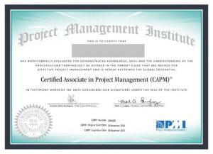 گواهینامه CAPM- مدارک مدیریت پروژه